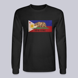 Filipino Republic California Flag - Men's Long Sleeve T-Shirt