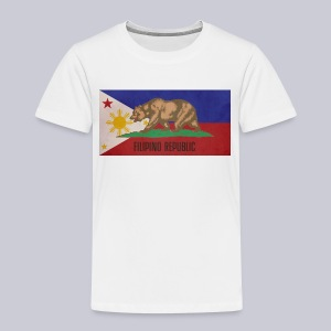 Filipino Republic California Flag - Toddler Premium T-Shirt