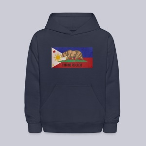 Filipino Republic California Flag - Kids' Hoodie