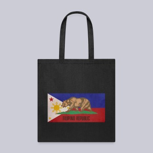 Filipino Republic California Flag - Tote Bag