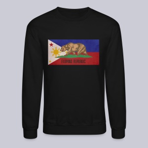 Filipino Republic California Flag - Crewneck Sweatshirt