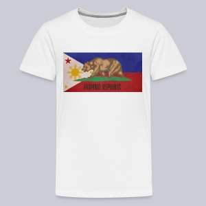 Filipino Republic California Flag - Kids' Premium T-Shirt