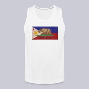 Filipino Republic California Flag - Men's Premium Tank