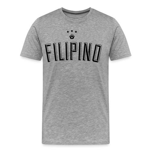 Filipino King by AiReal Apparel - Men's Premium T-Shirt