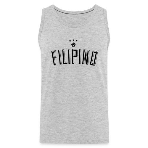 Filipino King by AiReal Apparel - Men's Premium Tank