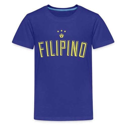 Filipino King by AiReal Apparel - Kids' Premium T-Shirt
