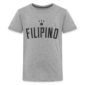 Filipino King by AiReal Apparel - Kids' Premium T-Shirt