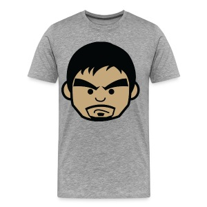 Angry Manny Pacquiao Face Mens Tee Shirt by AiReal Apparel - Men's Premium T-Shirt