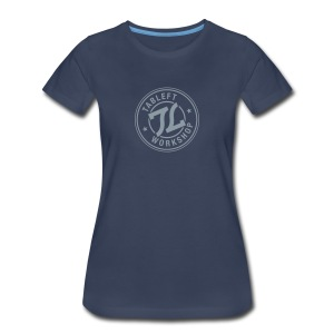 Womens Silver Stamp Logo - Women's Premium T-Shirt