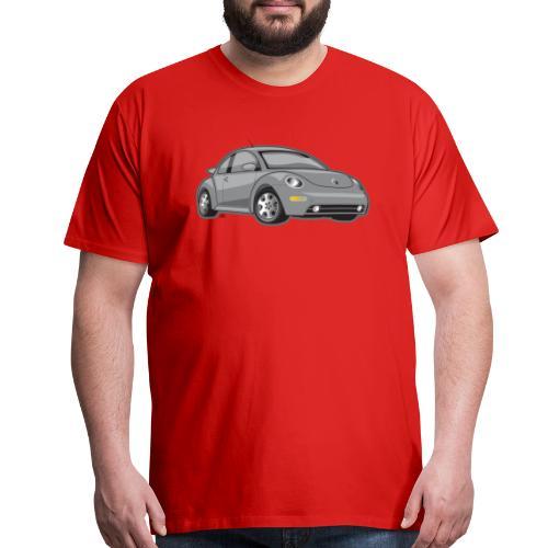 Gray New Beetle Tee - Men's Premium T-Shirt