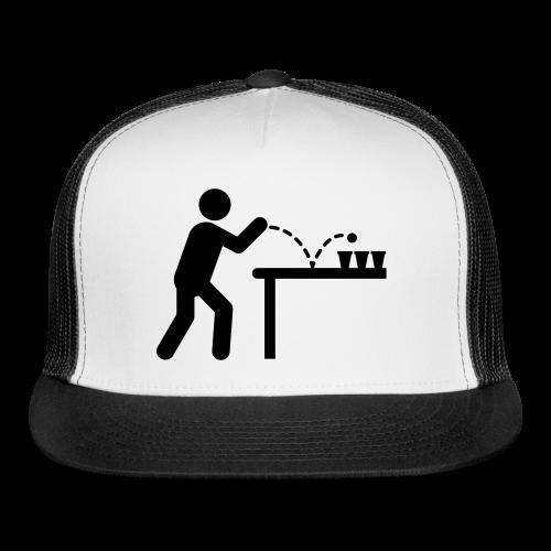 Beer Pong Trucker Cap - Trucker Cap