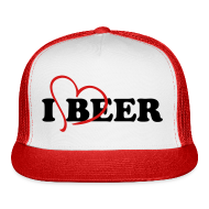 Sportswear ~ Trucker Cap ~ I Love Beer Trucker Cap