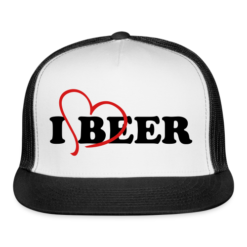 I Love Beer Trucker Cap - Trucker Cap