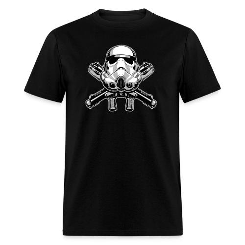 Helmet and Crossbones - Men's T-Shirt