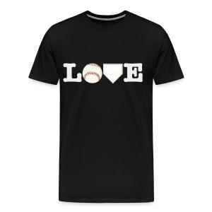 Love baseball  - Men's Premium T-Shirt