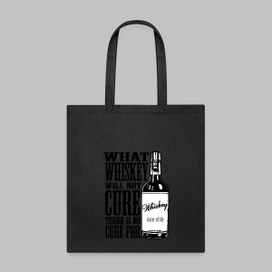 Whiskey Cure Irish - Tote Bag