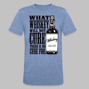 Whiskey Cure Irish - Unisex Tri-Blend T-Shirt by American Apparel