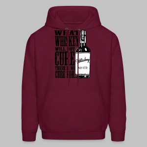 Whiskey Cure Irish - Men's Hoodie