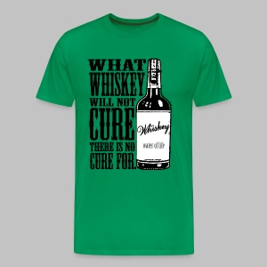 Whiskey Cure Irish - Men's Premium T-Shirt
