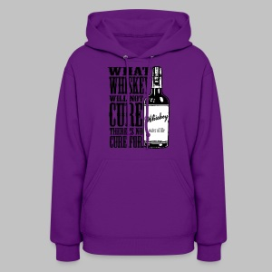 Whiskey Cure Irish - Women's Hoodie