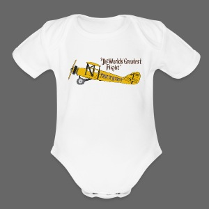 Pride Of Detroit - Short Sleeve Baby Bodysuit