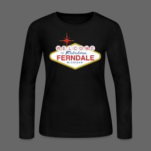 Fabulous Ferndale - Women's Long Sleeve Jersey T-Shirt