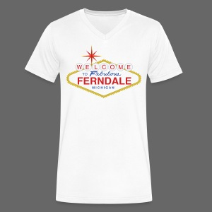 Fabulous Ferndale - Men's V-Neck T-Shirt by Canvas