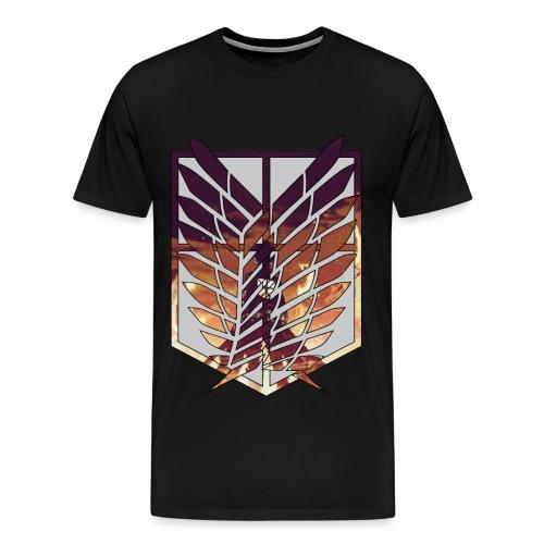 Attack On Titan T-Shirt - Men's Premium T-Shirt