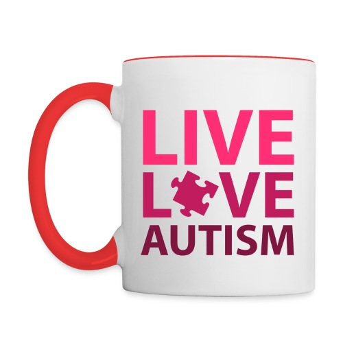 autism awareness mug - Contrast Coffee Mug