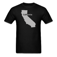 T-Shirts ~ Men's T-Shirt ~ California