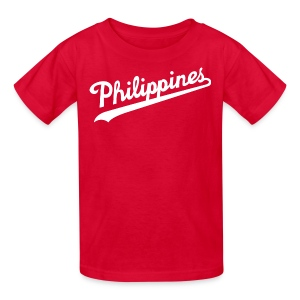 Philippines Script Kids Tee Shirt by AiReal Apparel - Kids' T-Shirt