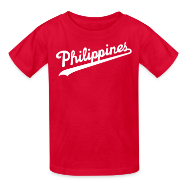 Philippines Script Kids Tee Shirt By Aireal Appare T Shirt
