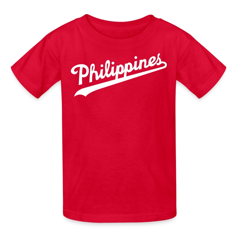 Philippines Script Design By Aireal Apparel T Shirt