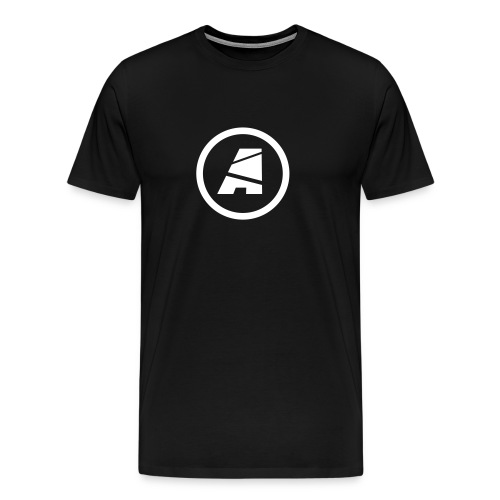Men's Standard - Icon Only (White) - Men's Premium T-Shirt