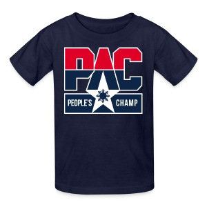 PAC People's Champ Kids Tee Shirt by AiReal  - Kids' T-Shirt