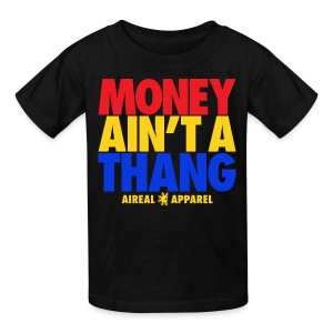 Money Ain't A Thang Team Pacman Kids Tee by AiReal Apparel - Kids' T-Shirt