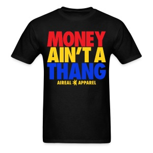 Money Ain't A Thang Team Pacman Mens Tee by AiReal Apparel - Men's T-Shirt