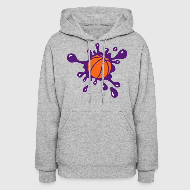 Basketball Splash Hoodies - Women's Hoodie
