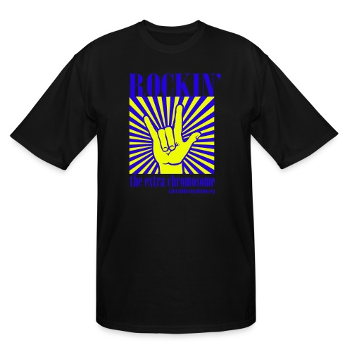 Rockin' the Extra Chromosome - Men's Tall T-Shirt