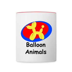 Balloon Animals Mug - Contrast Coffee Mug