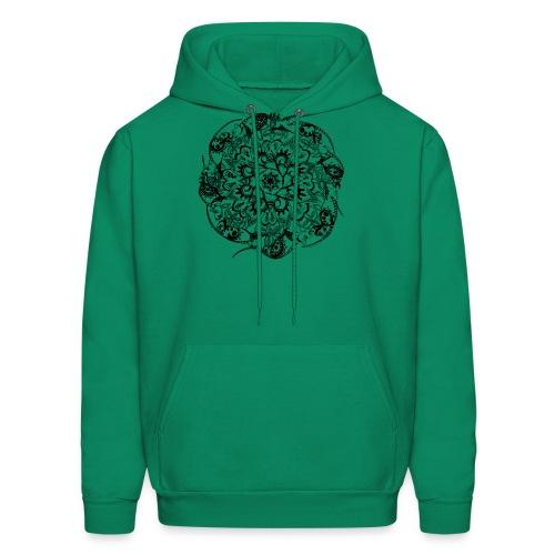 Rat Mandala-Men's Sweatshirt - Men's Hoodie