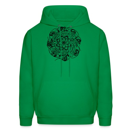 Rat Mandala-Men's Sweatshirt - Men's Hoodie