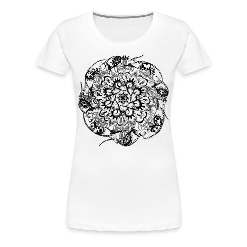 Rat Mandala-Women's Tee - Women's Premium T-Shirt