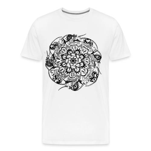 Rat Mandala-Men's Tee - Men's Premium T-Shirt