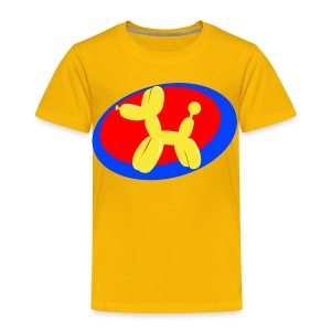 Balloon Dog Shirt - Toddler Premium T-Shirt