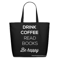 Bags & backpacks ~ Eco-Friendly Cotton Tote ~ Coffee & Books Bag