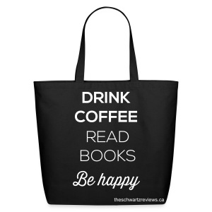 Coffee & Books Bag - Eco-Friendly Cotton Tote