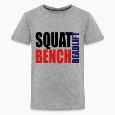 Squat Bench Deadlift - kids t2
