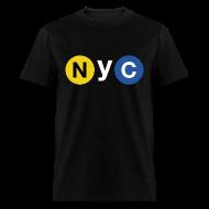 T-Shirts ~ Men's T-Shirt ~ NYC Subway