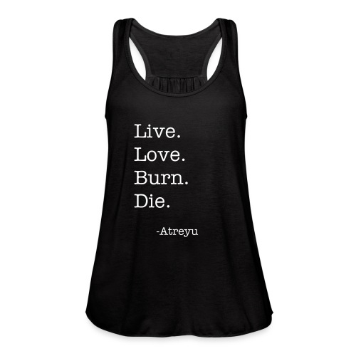 Atreyu Tank Top Women's - Women's Flowy Tank Top by Bella